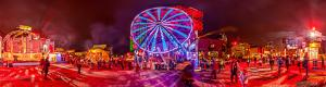 Panorama interactif grande roue Air France � Montr�al en lumi�re